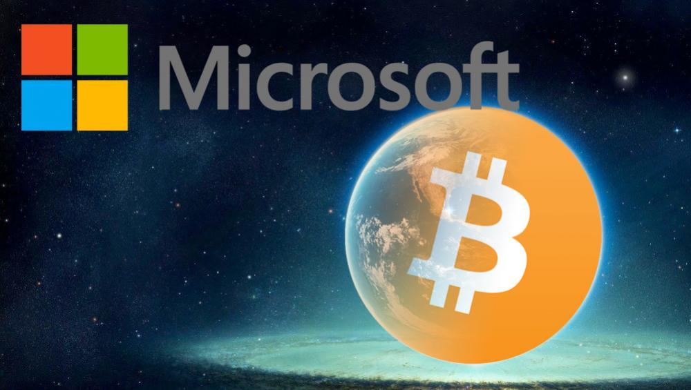 Usuarios de Microsoft podrían pagar con Bitcoin